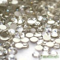 1440pcs Clear Top Quality Czech Crystal Flatback Rhinestones Nail Art No Hotfix