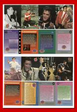 Elvis Presley 8 Card Promo Set 1992 (Un-Cut Sheets)
