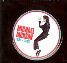 MICHAEL JACKSON 1958-2009 MEMORY pin Button #6