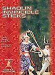 Shaolin Invincible Sticks (2003, DVD) BRAND NEW