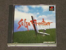 Saga Frontier 2 PS1 NTSCJ Complete Japanese Import Japan