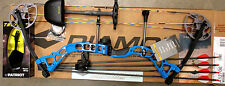 Diamond Bowtech PRISM Bow RH Infinite Edge BLUE Package W/QUIVER & EXTRAS