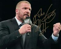 Triple H ( WWF WWE ) Autographed Signed 8x10 Photo REPRINT