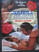 JUSTINE & JULIETTE - Filmplakat A1 - Marquis de Sade - EROTIK SEX - Maria Cynn