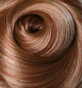 COPPER GLAZE Auburn Saran Doll Hair for Custom Reroots