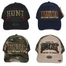 Heve Headwear Men's Hunter Forced to Work Adjustable Cap Hat
