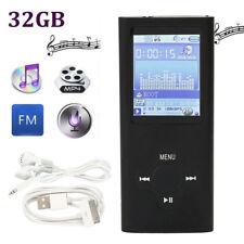 "32GB 72H MP4 MP3 Music Player Media Video FM-radio enregistreur lecture 1,8"" LCD"