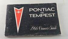 Operating Instructions Pontiac Tempest Von 1966