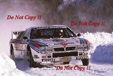 Attilio Bettega MARTINI LANCIA 037 Rally Monte Carlo Rally 1984 fotografia 1