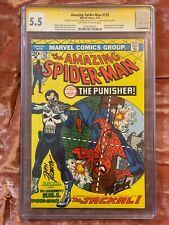 Amazing Spider-Man #129 CGC Signature 5.5  STAN LEE, THOMAS JANE & JOHN ROMITA