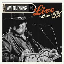 Waylon Jennings : Live from Austin, Tx CD Album with DVD 2 discs (2015)