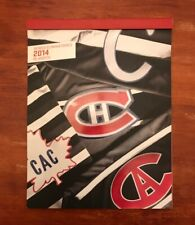MONTREAL CANADIENS 2014 NHL PLAYOFFS SEASON TICKETS BOOKLET & TICKET STUBS