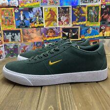 Nike SB Zoom Bruin - Midnight Green / Yellow Ochre Size 8 New