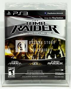 Tomb Raider Trilogy - PS3 - Brand New | Factory Sealed