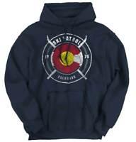 Colorado Ski Patrol Rocky Mountains Snowboard Hoodies Sweat Shirts Sweatshirts