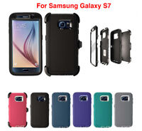 For Samsung Galaxy S7 Defender Case Cover (Belt Clip Fits Otterbox Defender)