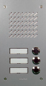 Türsprechanlage Prestige-KIT 03 silber/weiß Balcom-CTC