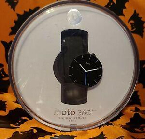 Motorola Moto 360 (2nd generation)  Smart watch 42mm. Blue Tylt band, Pinkin box