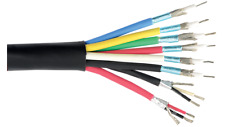 6 Conductor Mini RGB Cable + 22 awg 2 pair shielded composite cable. 500' reel