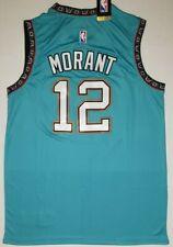NEW Ja Morant Men's Jersey Retro Vancouver # 12 Teal Swingman NWT Rare