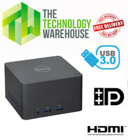 Dell Wireless Docking Station WLD15 - USB 3.0 + VGA + Mini DP + HDMI Charger Inc
