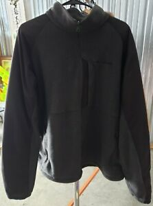 Columbia Mens Jacket Black Size XXL Fleece Full-Zip 2XL