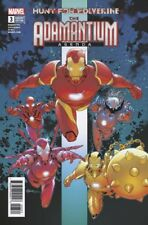 Hunt For Wolverine Adamantium Agenda #3 Silva Variant Marvel Taylor Iron 71118