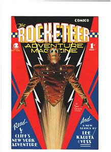 Rocketeer Adventure Magazine #1 NM- 9.2 Comico 1988 Dave Stevens