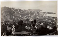c.1880's PHOTO  - U.S.A. TABER THE GOLDEN GATE FROM TELEGRAPH HILL