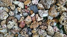 """20lbs 3""""-6"""" Natural River Creek Rock Stone, rock garden crystal, coy, aquascape"""