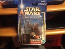 Hasbro ataque de los Clones De Star Wars Figura Obi Wan Piloto en tarjeta
