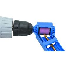 "New Drill Bit Sharpener 5/64"" to 1/2""  - Uses your Drill Free US Shipping"