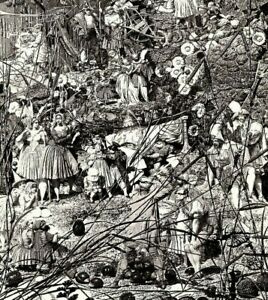 Richard Dadd The Fairy Feller's Master-Stroke 1855-64 Tate Gallery B/W Photo