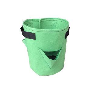 5/7/10 Gallon Grow Bags Strawberry Plant Bag Home Garden Vegetable Planter Pots