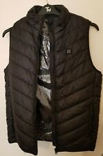 Men Women Electric Vest Heated Cloth Jacket USB Warm Up Heating Pad Body Warmer.