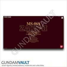 NEW 1/60 PG MS-06S Zaku II Char's Gundam Model Kit Bandai Perfect Grade