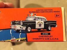 Corgi Diecast Lionel Chevrolet Sheriff's Police Car 51302 LE 1:43 Scale NIB RARE