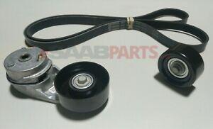 NEW OEM GM 2.0T Belt, Tensioner, & Pulley Kit (Buick Regal 11-13, Saab 9-5 2011)