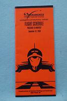 Sacramento International Airport Flight Schedule - Sept. 22, 2000