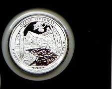 2017-S Silver Proof Quarter OZARK SCENIC RIVER WAYS National Park
