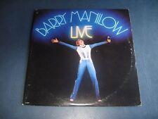 """Barry Manilow--""""Live""""--1977 Double Vinyl LP"""