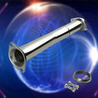 FITS 07-13 MAZDASPEED3 MPS STAINLESS RACING TURBO DOWNPIPE HI-FLOW EXHAUST PIPE