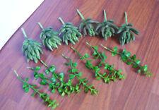 Artificial Succulents Yacon Plants Set of 13 Mix Miniature Grass