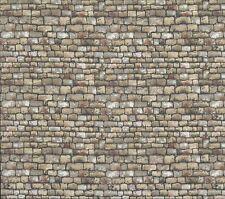 Toit en pierre de paysage-mur de grès fq 50 x 56 cm Makower 1360 V 100% coton