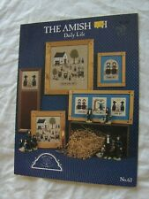 THE AMISH VII DAILY LIFE CROSS STITCH PATTERN CHART Homespun Elegance