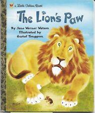 Little Golden Book - The Lion's Paw, {2000}, Ln