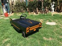 VINTAGE 1960'S AMF BAT MOBILE  PEDAL CAR CUSTOM PAINT
