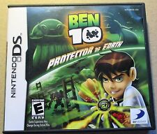 """NINTENDO DS """"BEN 10 PROTECTOR OF EARTH"""", CASE, CARTRIDGE & INSTRUCTION BOOKLET."""