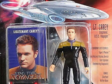 Voyager Lt CAREY Star Trek Playmates 1995 Unopened Mint Action Figure