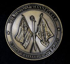 Union & Confederate Flags Medallion, The History Channel Club, Collectors Series